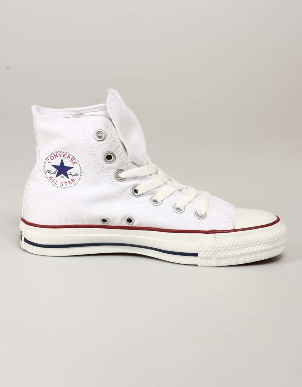 Biele členkové tenisky Converse Chuck Taylor All Star