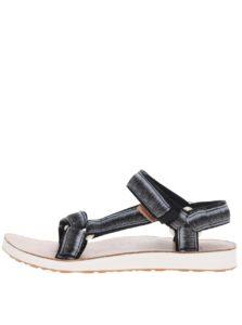 Sivo-čierne melírované dámske sandále Teva
