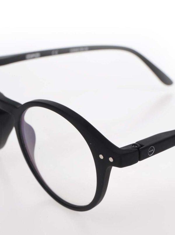 Čierne pánske ochranné okuliare k PC IZIPIZI  #D