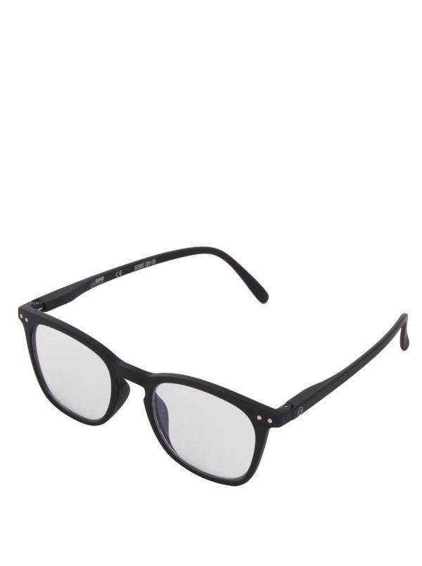Čierne unisex ochranné okuliare k PC IZIPIZI #E