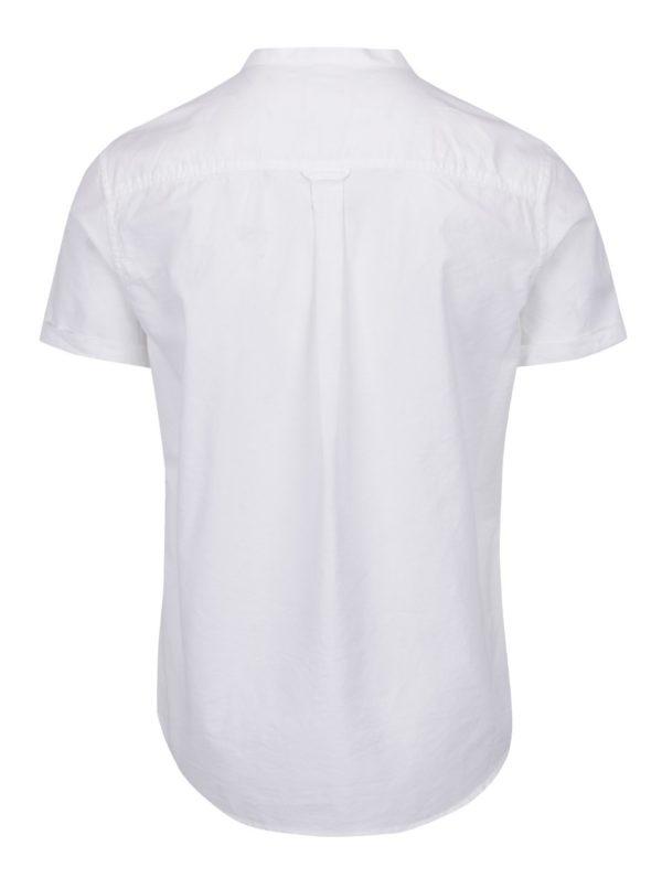 Biela košeľa s náprsným vreckom Burton Menswear London