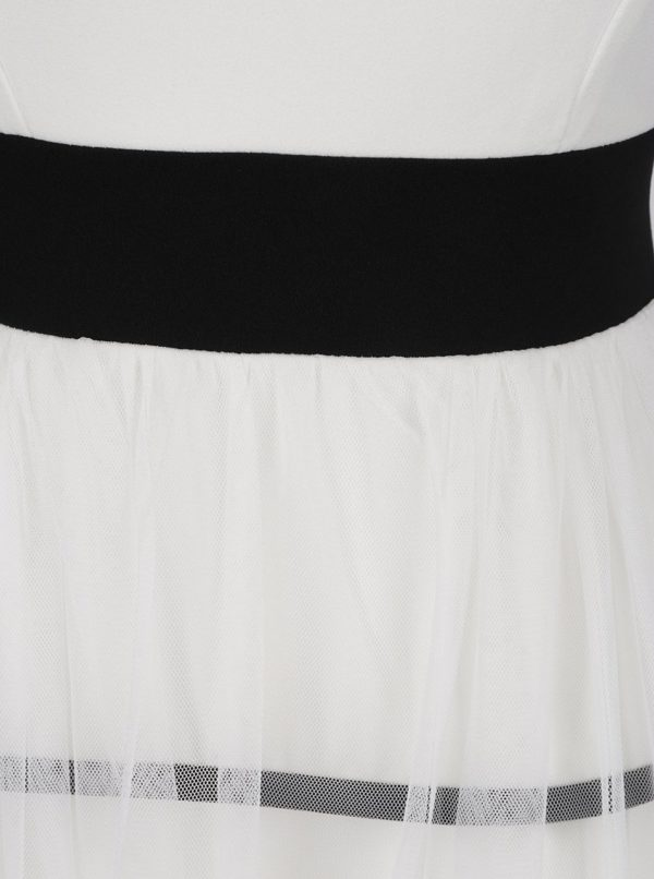 Krémové šaty s pruhmi Haily´s Marita