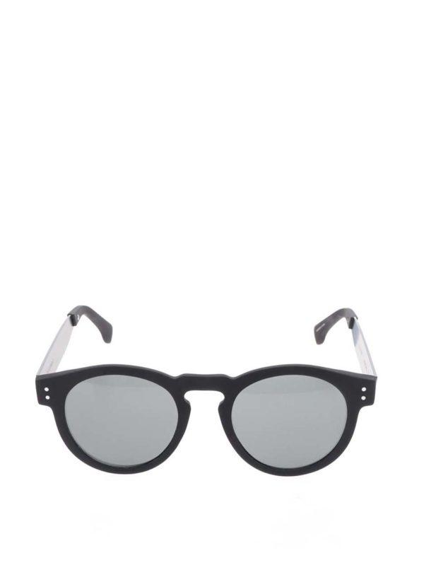 Čierne unisex slnečné okuliare Komono Clement