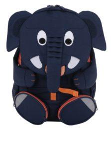 Tmavomodrý batoh v tvare slona Affenzahn 8 l
