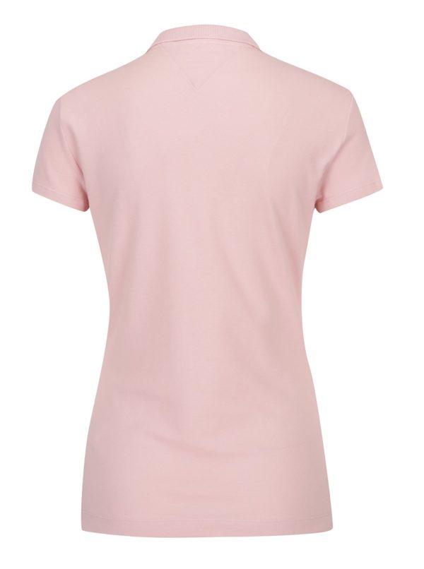 Ružové dámske polo tričko Tommy Hilfiger New Chiara  fb0ab7df8c