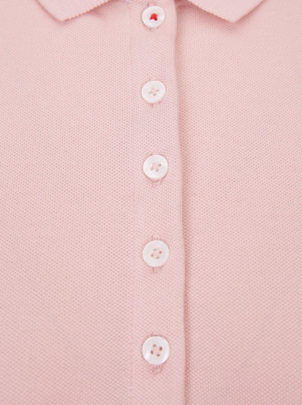 Ružové dámske polo tričko Tommy Hilfiger New Chiara  05ac1b9d6fd