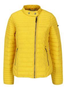Žltá dámska prešívaná bunda Garcia Jeans