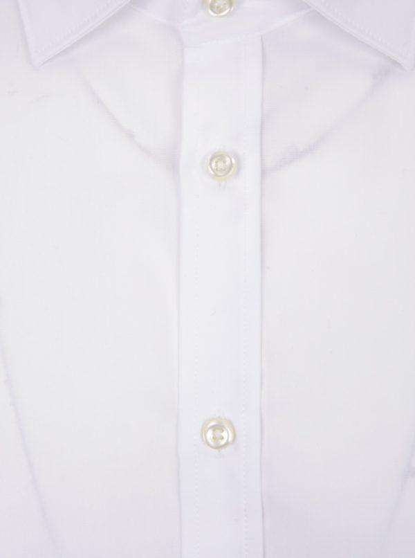 6440baf3e4fb Biela pánska formálna slim fit košeľa STEVULA