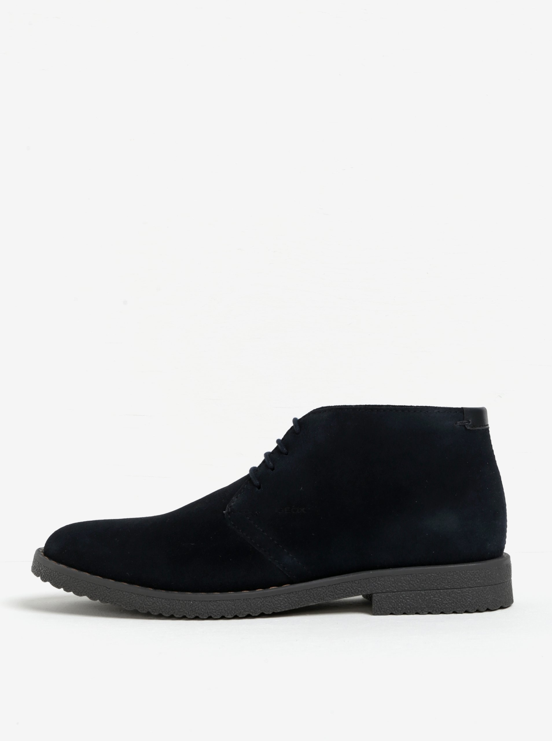 Tmavomodré pánske semišové členkové topánky Geox Brandled  842afeb1b5