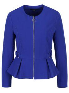 Modré sako na zips Dorothy Perkins