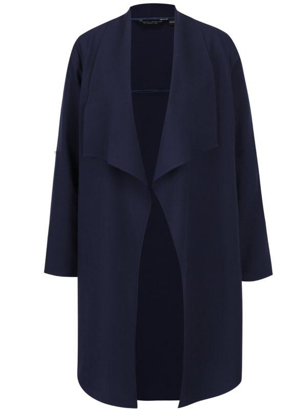 Tmavomodrý tenký kabát Dorothy Perkins