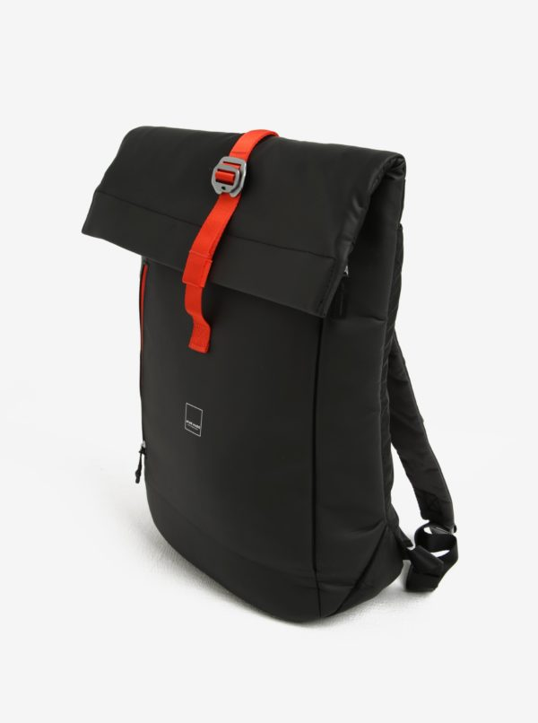 Čierny batoh Acme Made North Point Medium Roll-Top Backpack