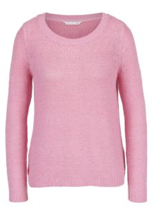 Ružový sveter ONLY Geena