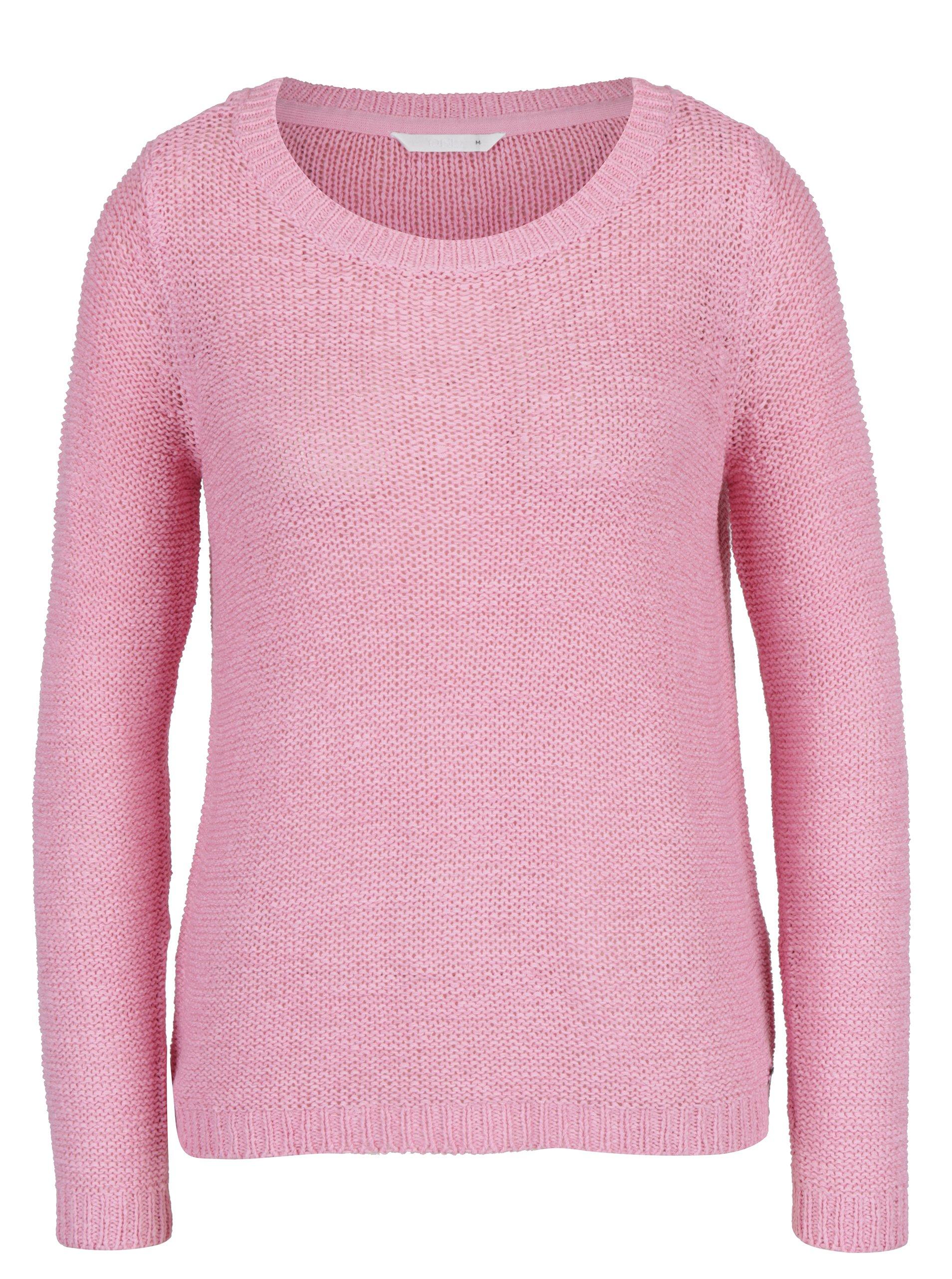 bedc4713dbc9 Ružový sveter ONLY Geena