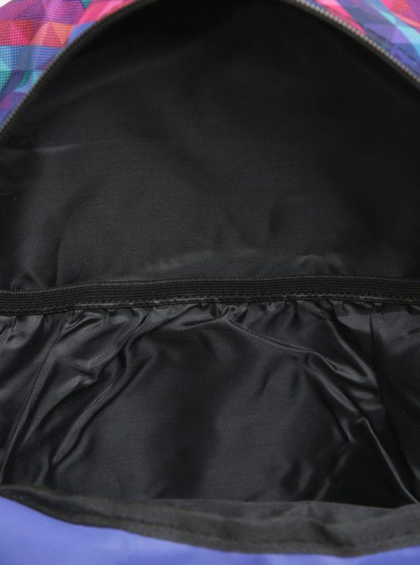 675714143940 Fialový vzorovaný batoh LOAP Asso 20 l