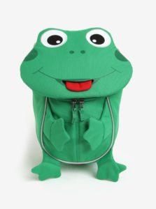 Zelený batoh v tvare žaby Affenzahn 4 l