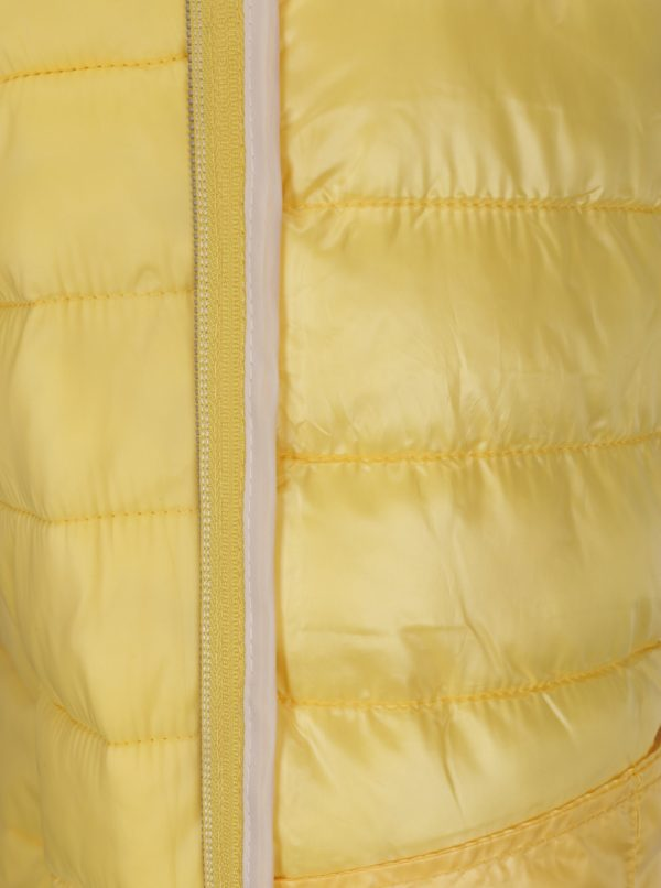Žltá prešívaná bunda VERO MODA Soraya