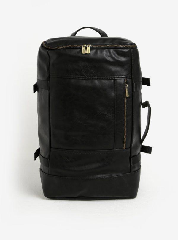 Čierny batoh/cestovná taška Bobby Black