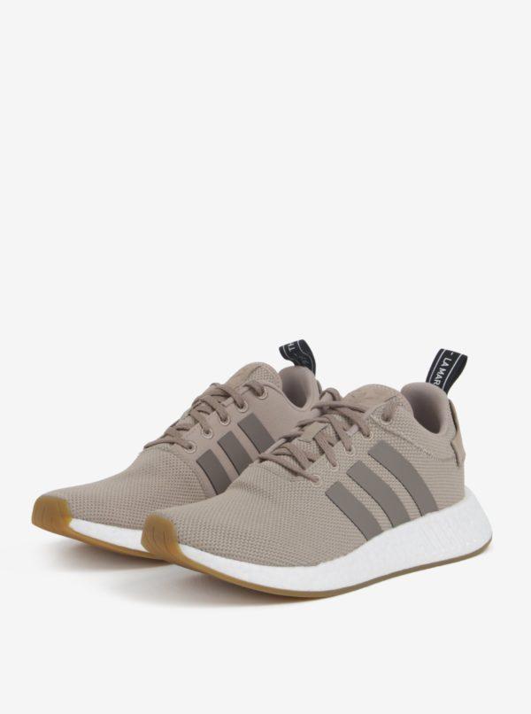 Béžové pánske tenisky adidas Originals NMD R2