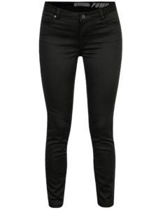 Čierne slim nohavice s nízkym pásom SH Guaruja