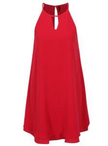 Tmavoružové šaty na ramienka ONLY Mariana