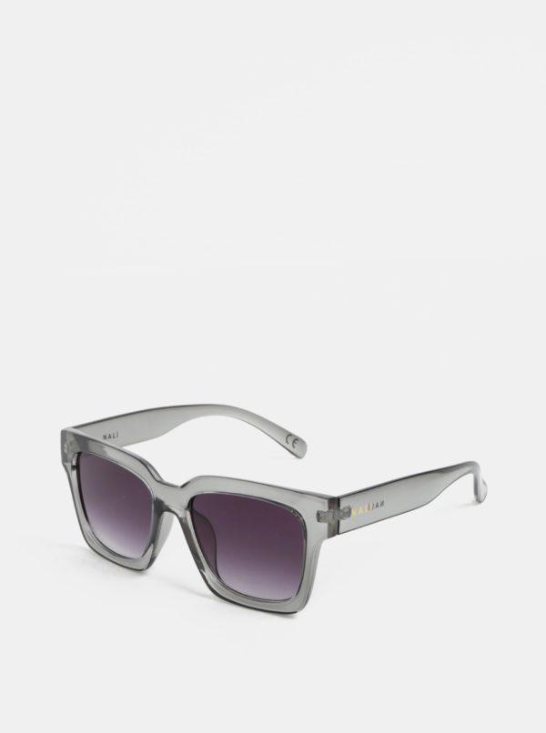 Sivé transparentné slnečné okuliare Nalí