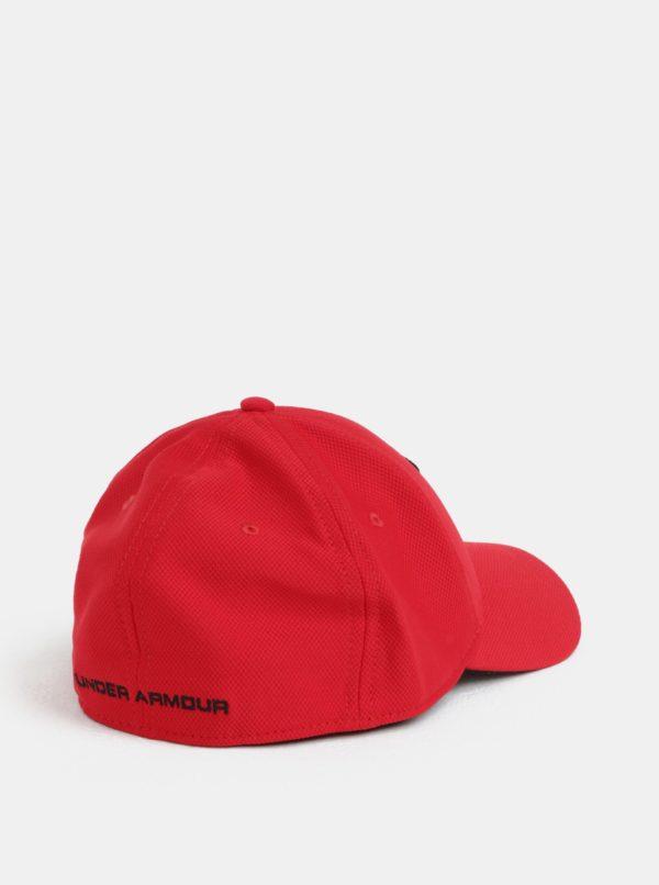 Červená pánska šiltovka s logom Under Armour