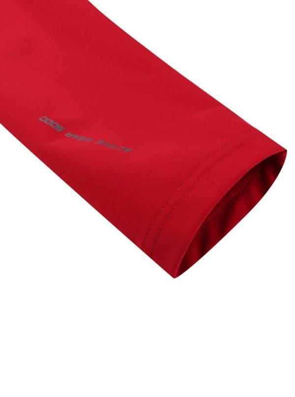 Červená pánska softshellová bunda LOAP Lenc