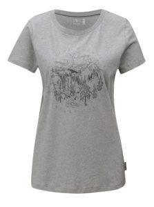 Sivé dámske tričko Maloja