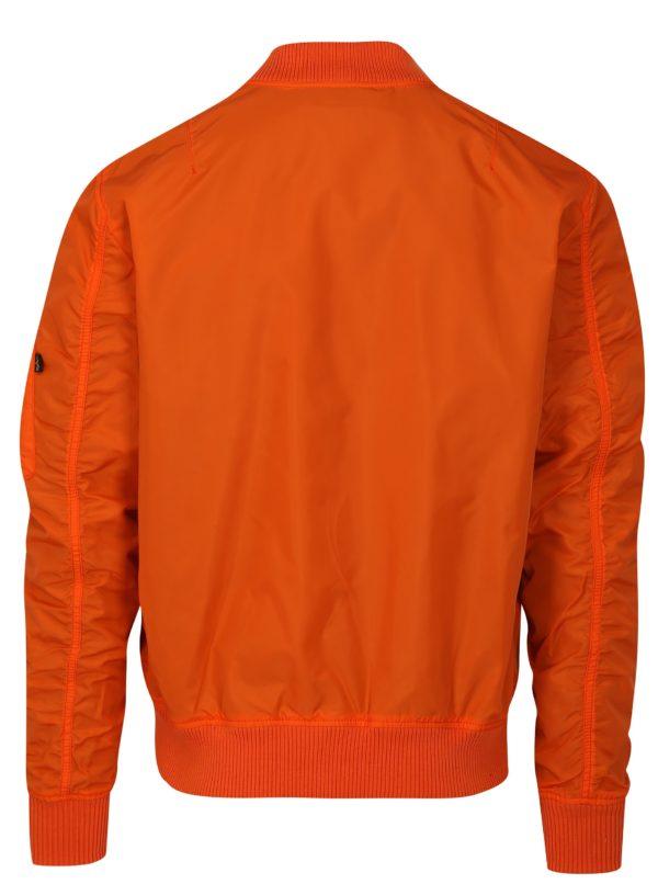 Oranžový pánsky bomber ALPHA INDUSTRIES