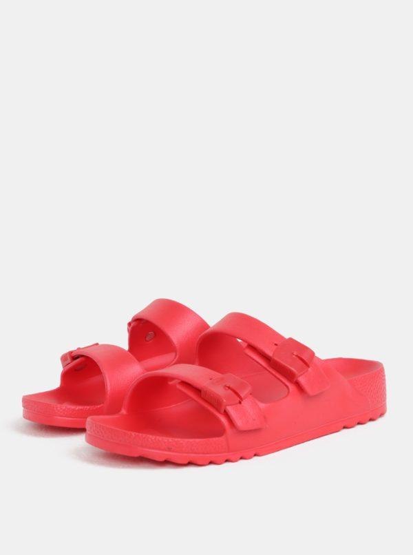 9f24257a301b Červené dámske zdravotné papuče Scholl Bahia
