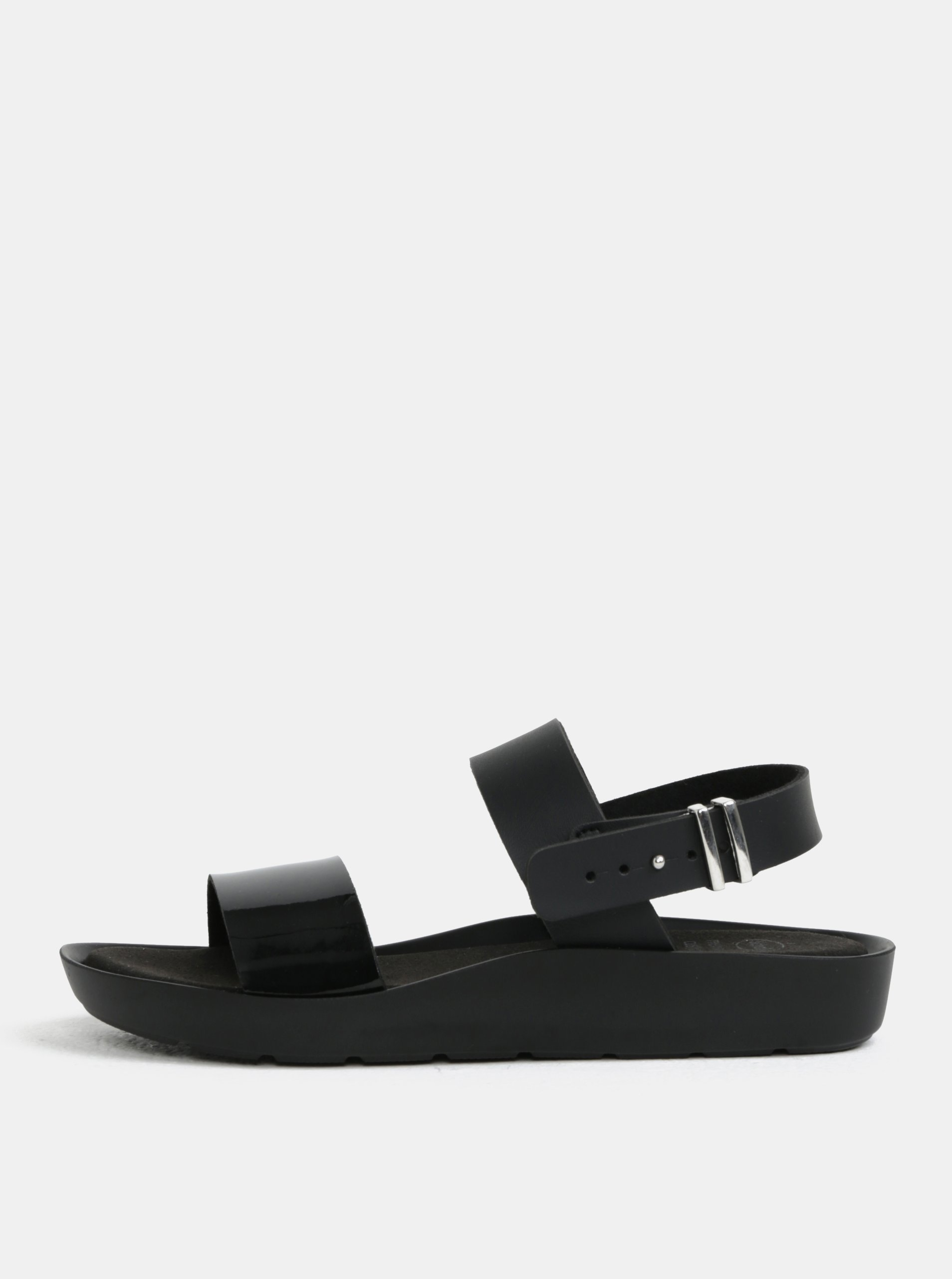 Čierne dámske zdravotné sandále Scholl Mamore  ddb22fb24d3
