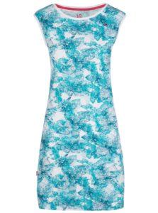 Bielo-modré kvetované šaty LOAP Brea