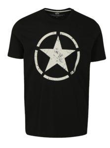 Čierne pánske tričko ALPHA INDUSTRIES