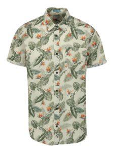 Zelená vzorovaná košeľa Jack & Jones Paka