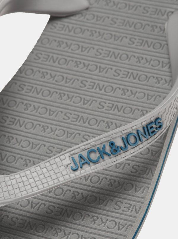 Sivé žabky Jack & Jonas Basic