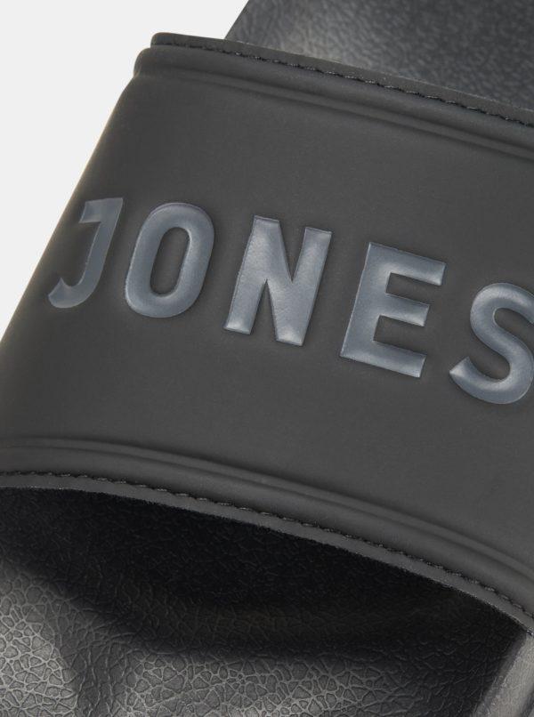 Čierne šľapky Jack & Jonas Larry
