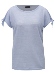 Svetlomodré dámske tričko M&Co