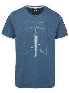 Modré dámske tričko s potlačou Ragwear Blaize