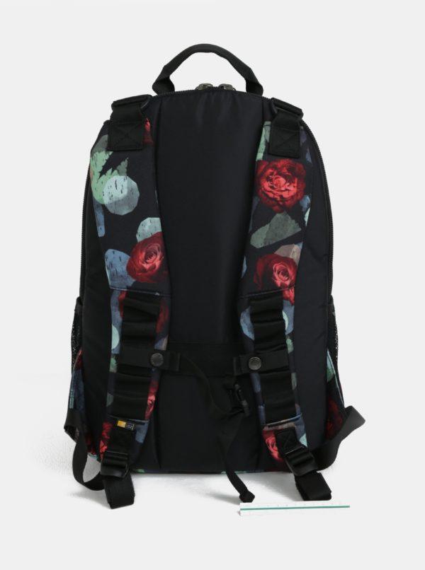 """Čierny vzorovaný batoh na notebook 15,6"""" Case Logic Berkeley 29 l"""