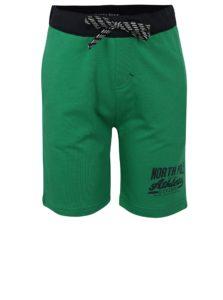 Modro-zelené chlapčenské kraťasy North Pole Kids