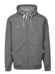 Sivá pánska bunda s kapucňou Ragwear Percy