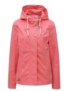 Ružová dámska bunda s kapucňou Ragwear Lynx