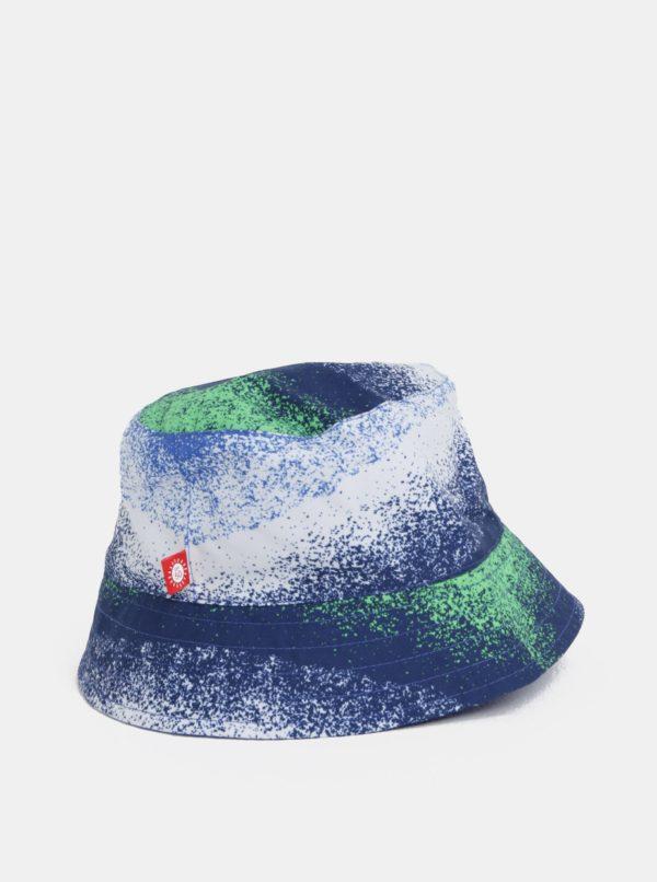 Bielo–modrý chlapčenský obojstranný klobúk Reima Viehe