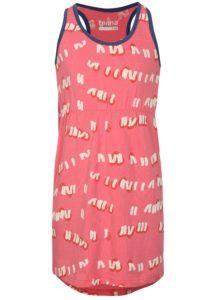 Ružové šaty s potlačou Reima Sointu