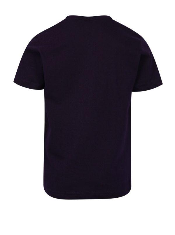 Tmavomodré chlapčenské tričko s motívom áut Mix´n Match