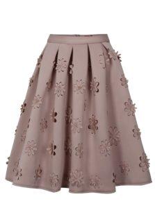 Staroružová sukňa Chi Chi London Jasmina