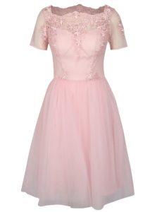 Ružové šaty Chi Chi London Krizia