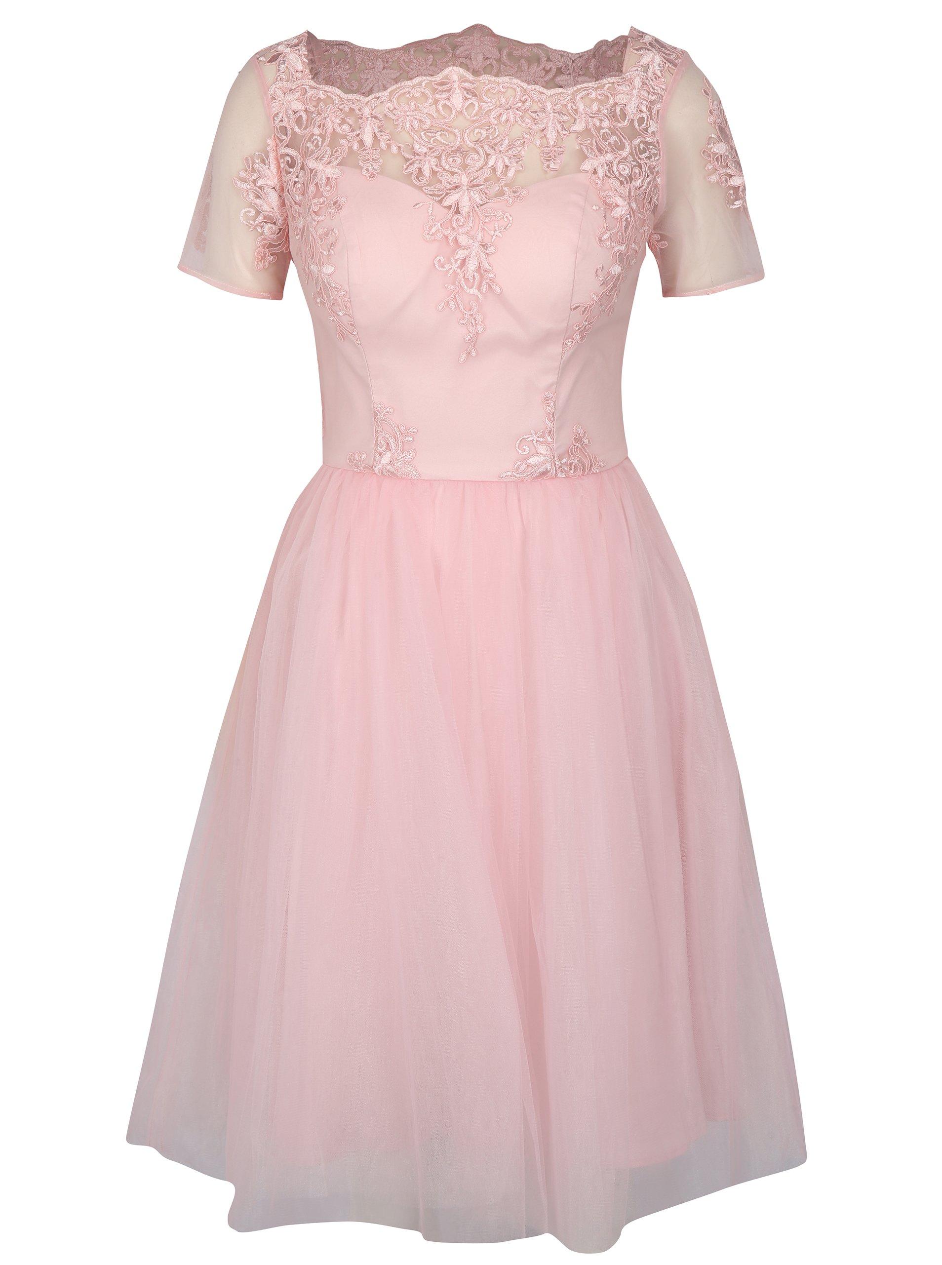 d095a93ed843 Ružové šaty Chi Chi London Krizia