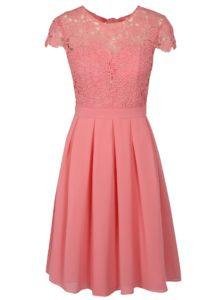 Ružové šaty Chi Chi London Summer